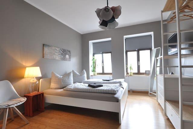 Familiäres Apartment mit 5 Zimmern
