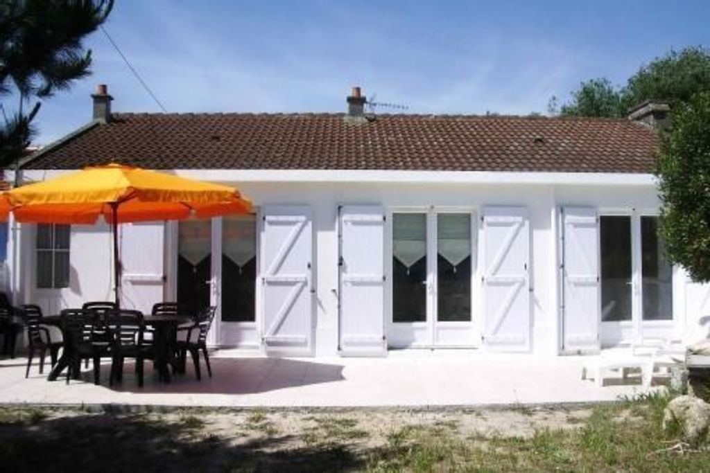 Casa con jardín para 7 personas
