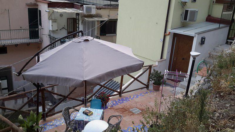 Alojamiento panorámico en Cetara