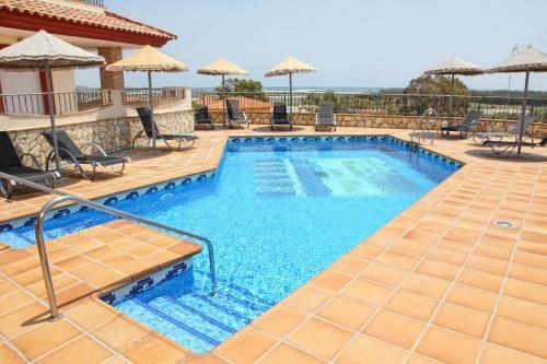 Apartamento con piscina de 1 habitación