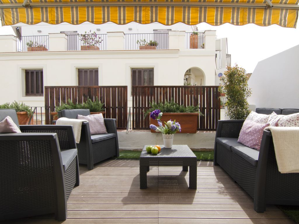 Acogedor piso vacacional en Sitges para 4