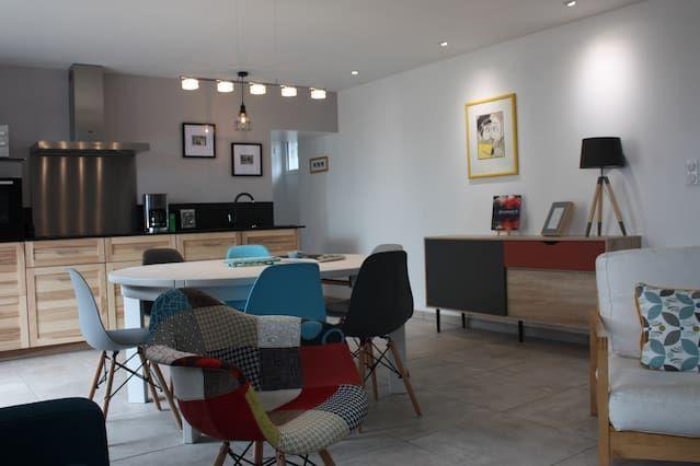 Casa con wi-fi de 3 habitaciones