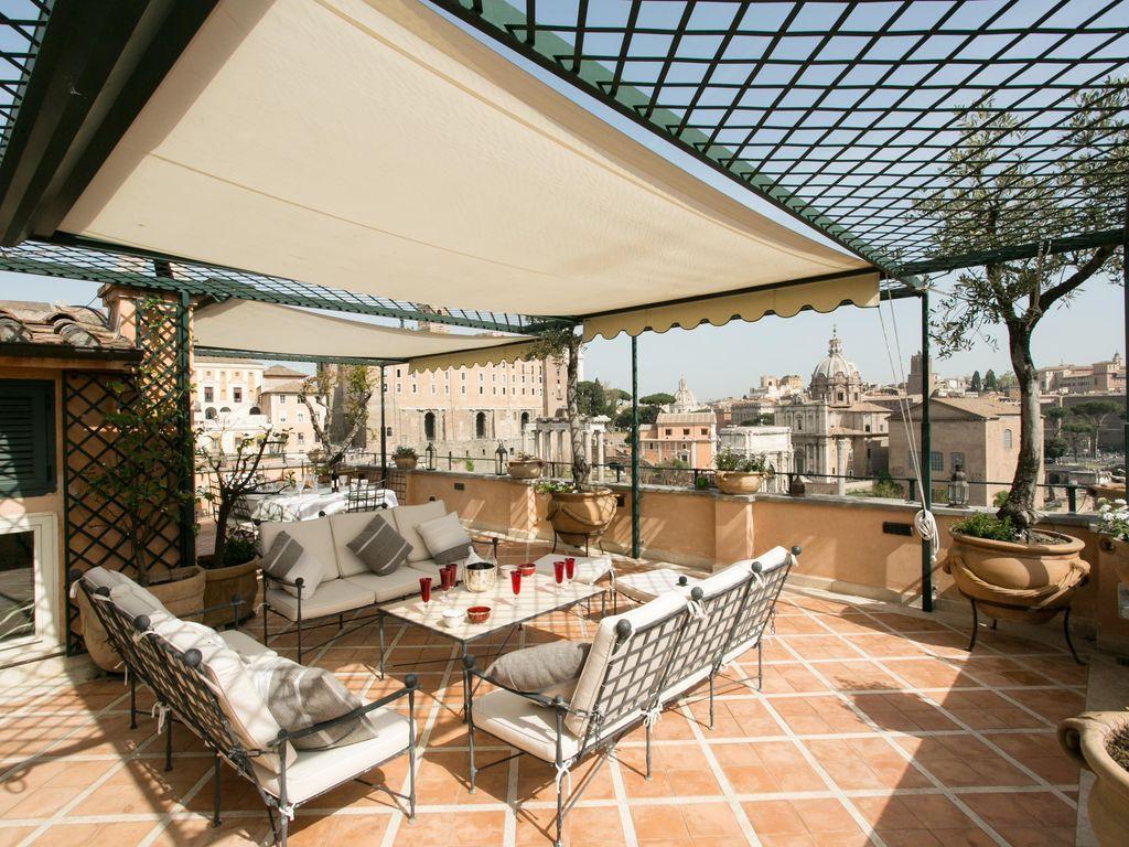 Apartamento en Roma con  Sábanas y toallas