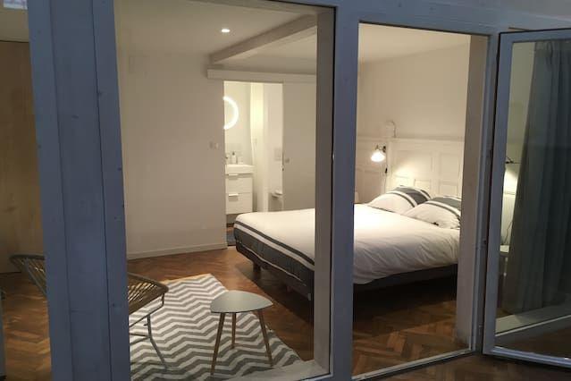 Extraordinario piso de 1 habitación
