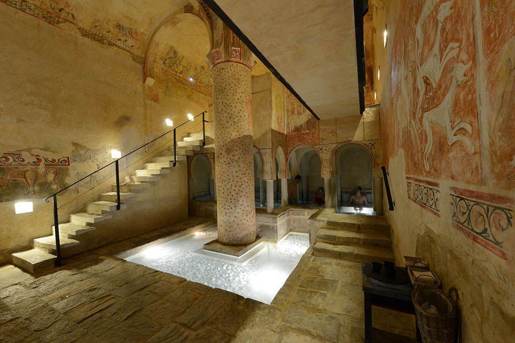 Baños termales romanos del Termal Burgo de Osma