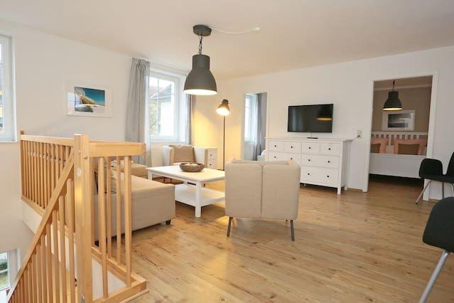 Eingerichtete Ferienwohnung mit 2 Zimmern