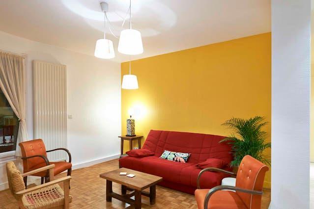 Hébergement de 53 m² à 1 chambre