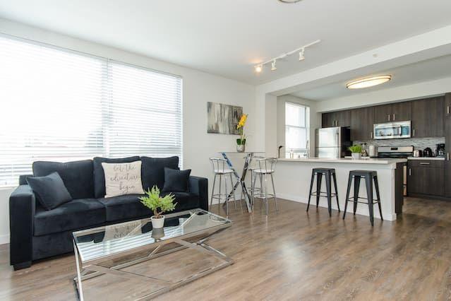 Provisto piso para 5 huéspedes