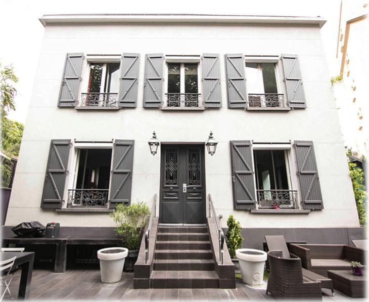 Residencia con jardín en Boulogne-billancourt