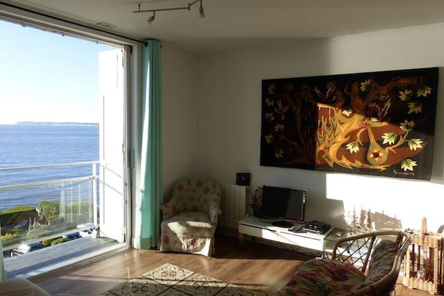 Hébergement avec 2 chambres à Villerville