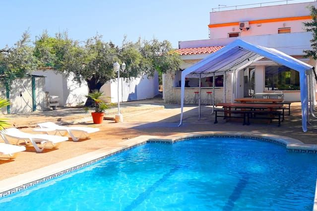 H50 Gran house with pool, wifi for 12 people 3 Sta