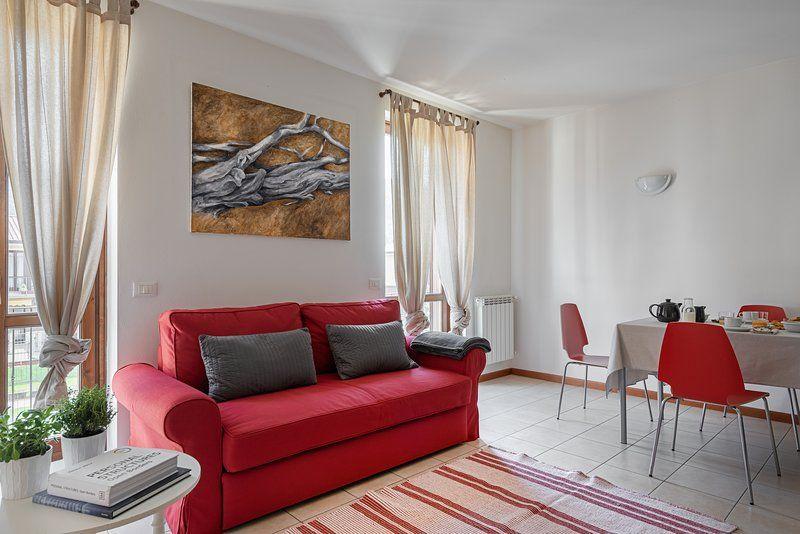 L. Garda beautiful 2 bedrooms apartment sleep 6
