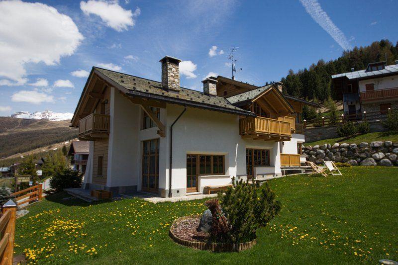 Abitazione con balcone a Livigno