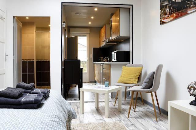 Hébergement de 35 m² à Saint-quentin
