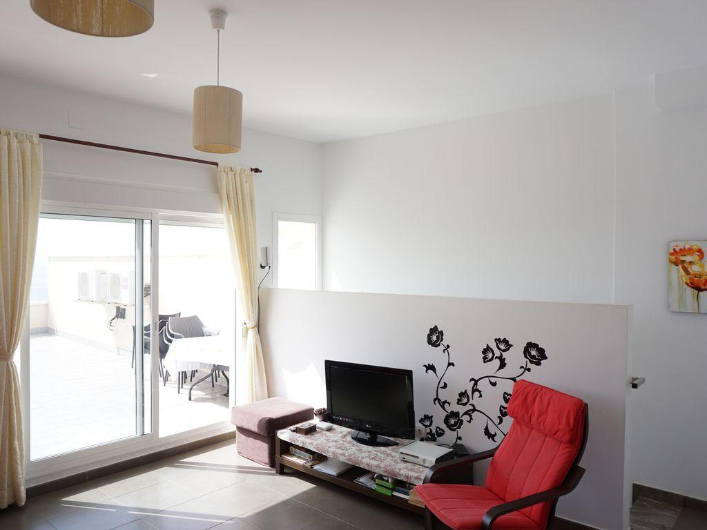 Apartamento en Carboneras con Balcón y AC
