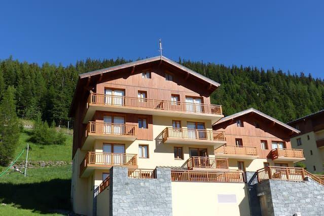 Vivienda de 2 habitaciones en Valfrejus