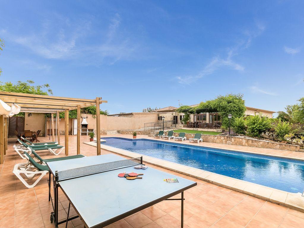 Casa con piscina en Bunyola