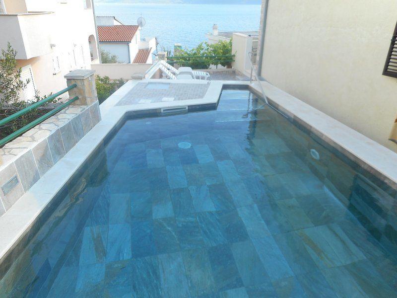 Casa de vacaciones en Trogir/Okrug Gornji, Dalmacia central - 10 personas, 4 dormitorios