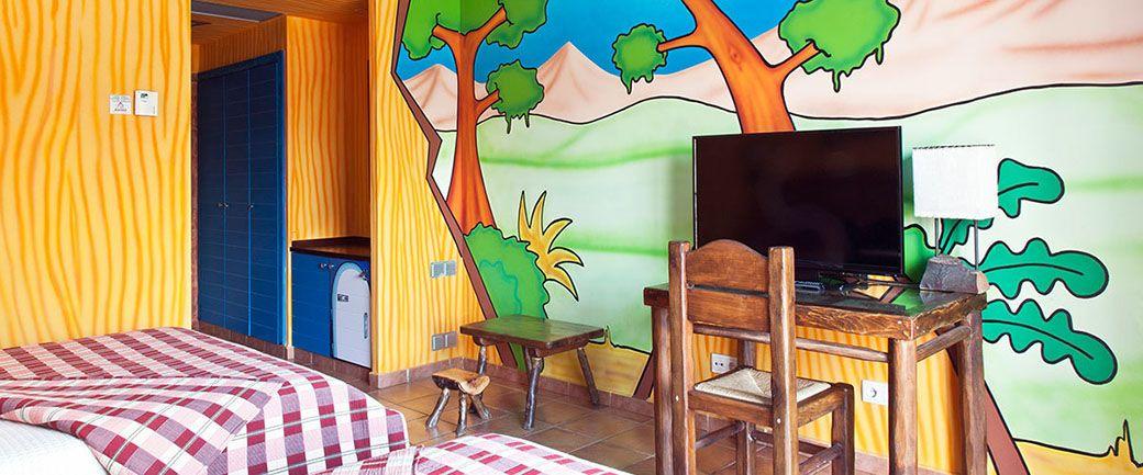 Habitación tematizada del Hotel PortAventura