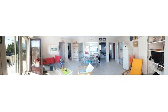 apartamento de verano con vistas al mar Mesquer-Quimiac