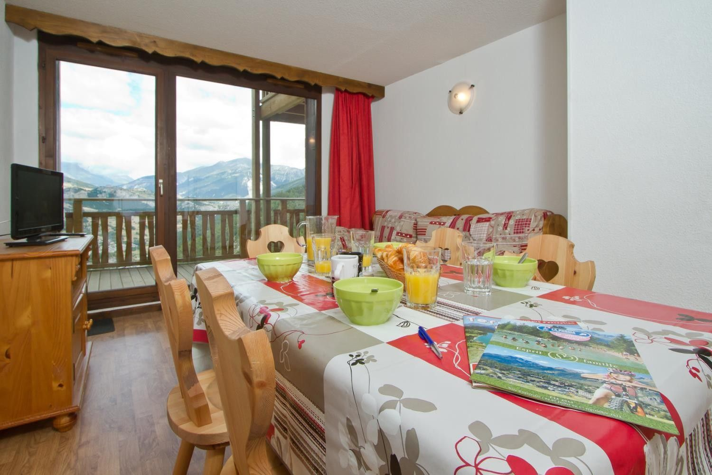 Con vistas casa en Villarodin-bourget