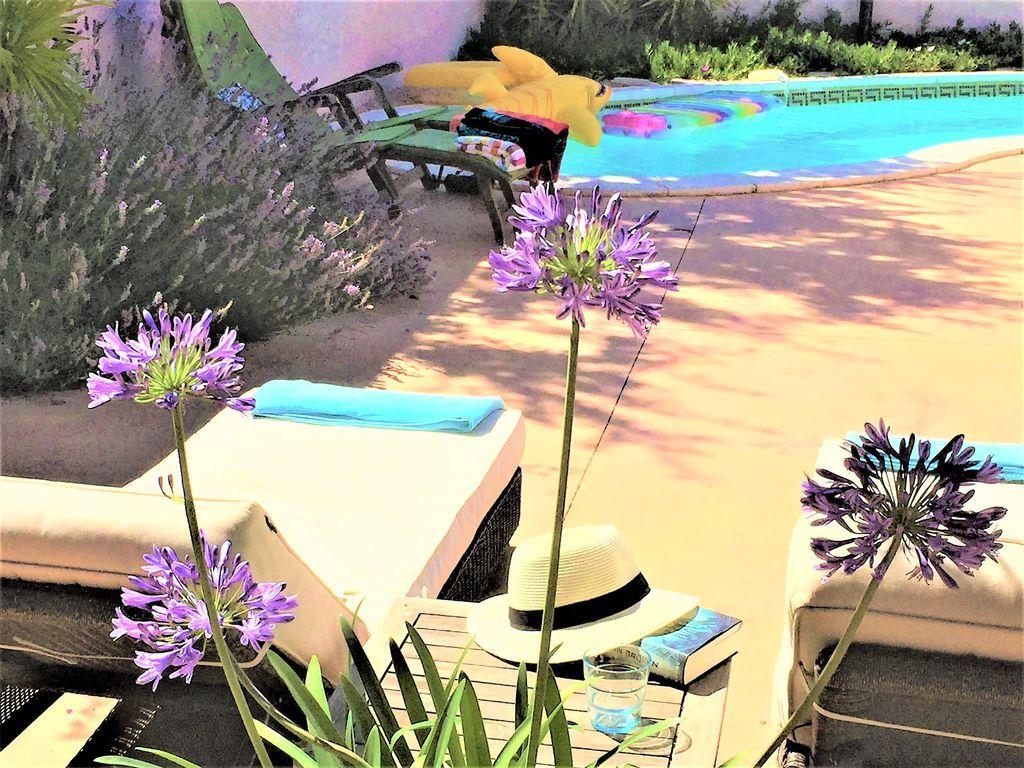 Entre laguna y viñas. Mar, dunas de playa, carril bici, piscina, aire acondicionado, internet