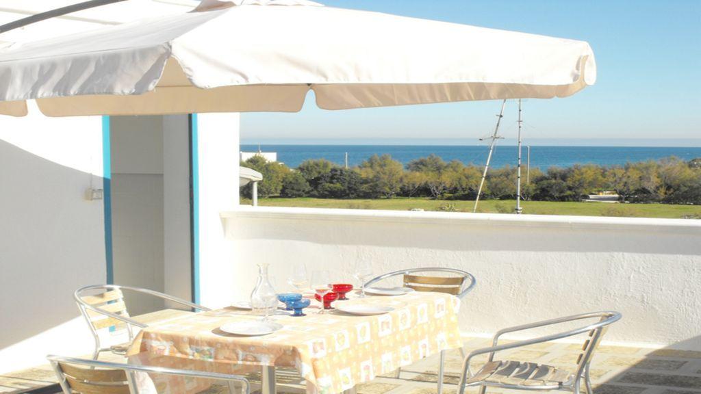 Villa confortable en la playa en Puglia: Villa Giorgia Sólo 5 m. por el mar.
