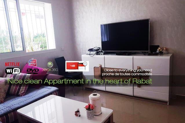 Alojamiento con wi-fi en Rabat