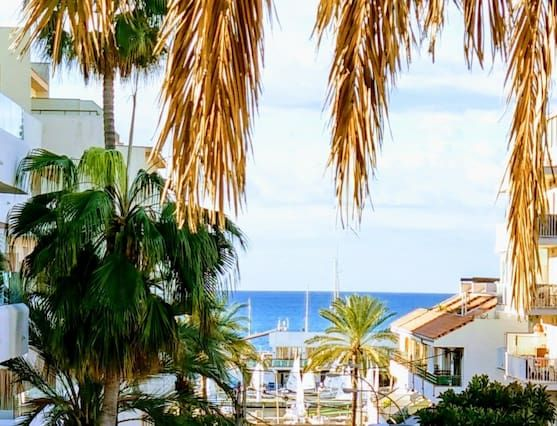 Holiday rental with 2 rooms in Playa de palma