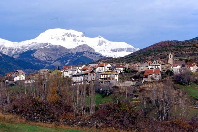 Apartamento en pueblo de montaña