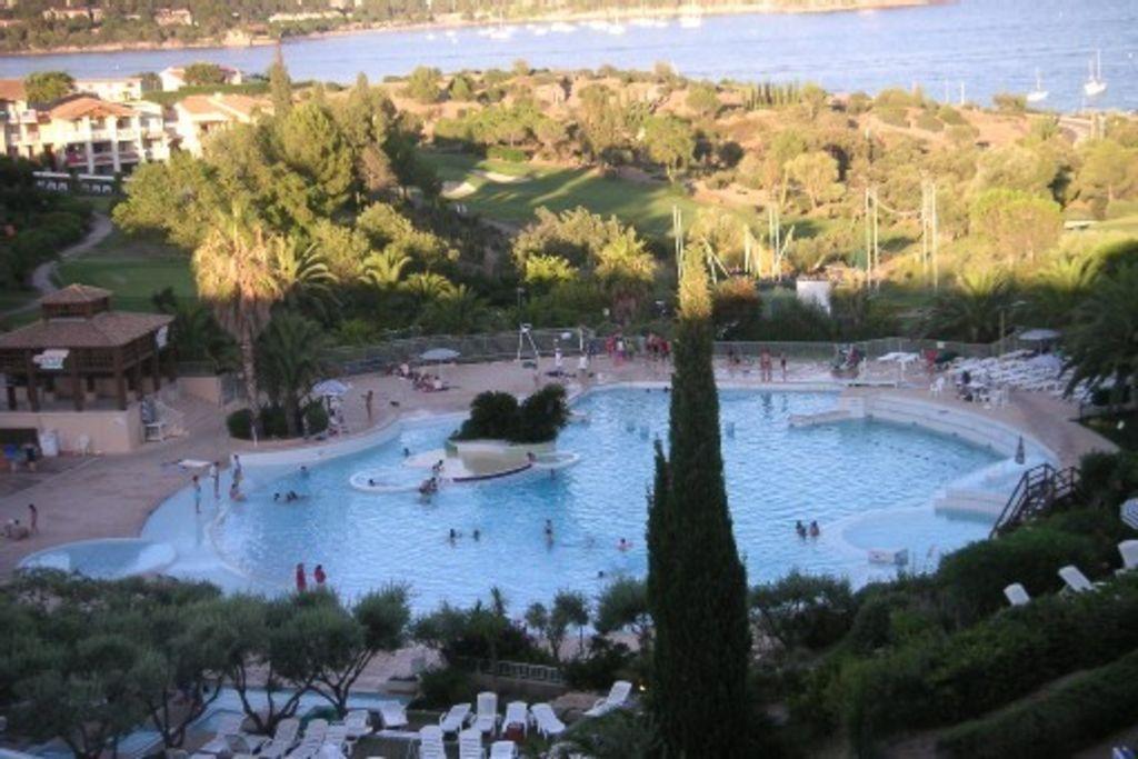 Apartamento de 37 m² con piscina