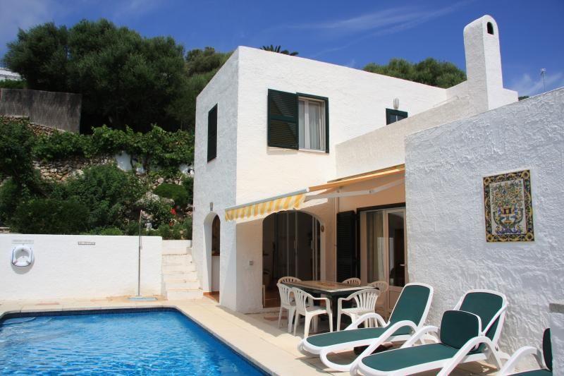 Binibeca, Villa Rosa, private pool, air con, WiFi