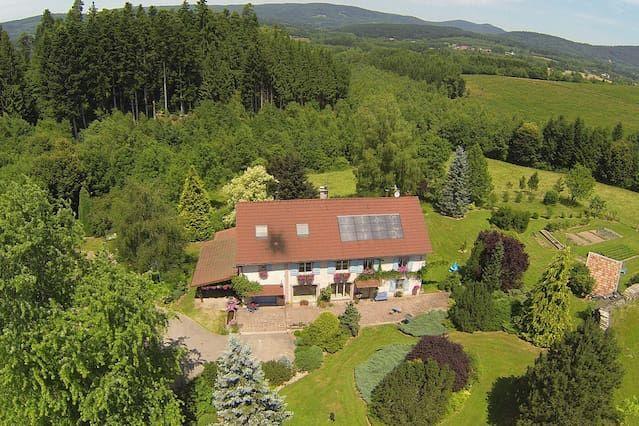 Residencia con jardín de 80 m²
