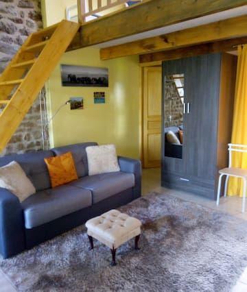 Apartment für 4 Gäste mit Garten