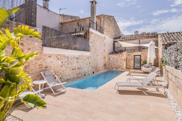 Residencia con jardín de 146 m²