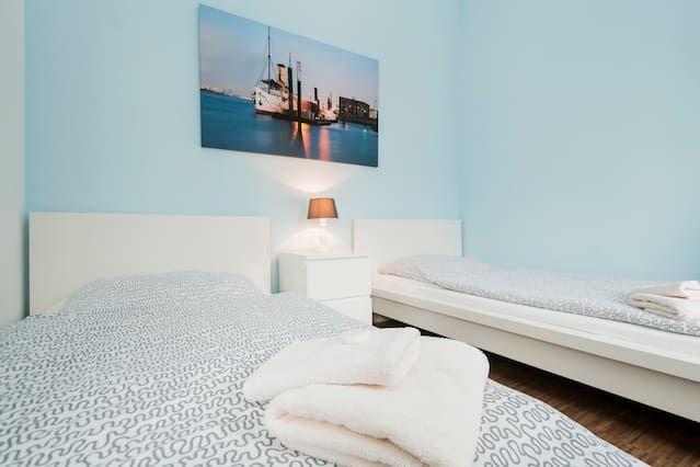 Apartamento para 4 personas en Hamburgo