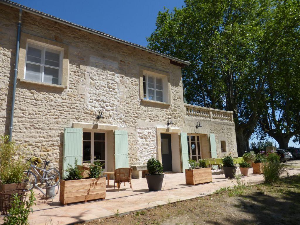Residencia equipada en Gard