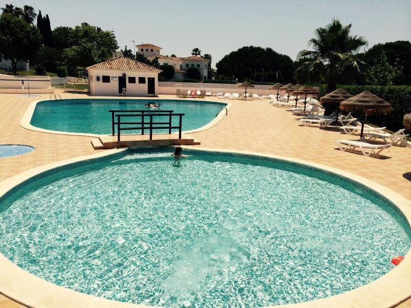 Beach and swimming pool at algarve