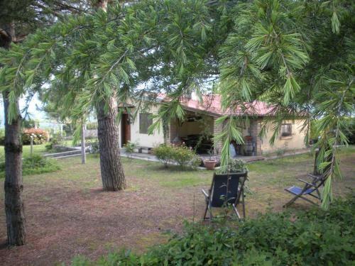 Residencia popular con jardín