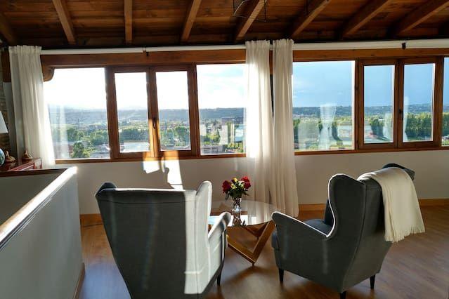 Bodega con suite y fantásticas vistas.