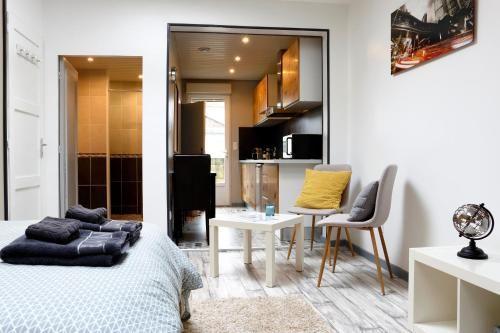 Attractif hébergement à 2 chambres