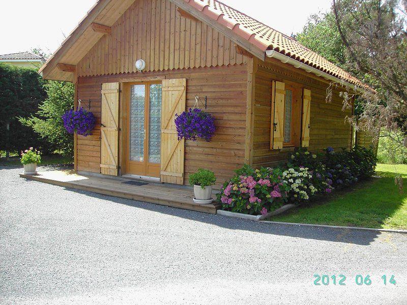 Alojamiento en Biscarrosse con jardín