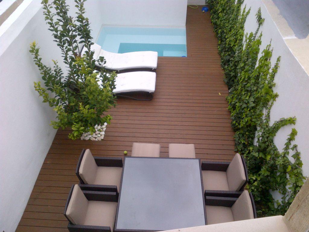 Residencia con piscina para 4 huéspedes