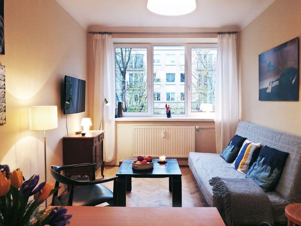 Apartamento con wi-fi en Warszawa