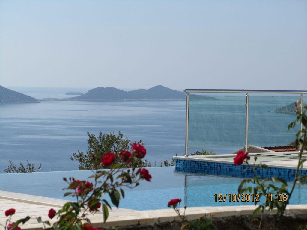 Piso con piscina en Kalkan