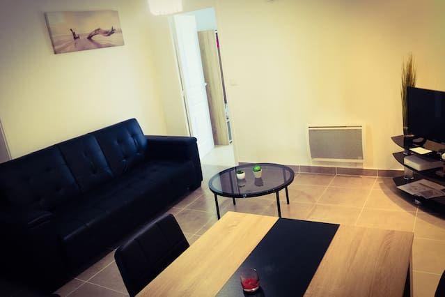 Logement attractif de 1 chambre
