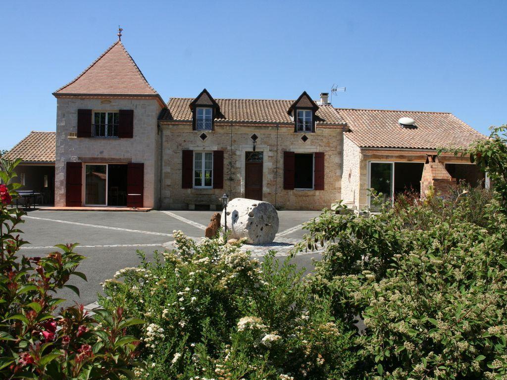 Alojamiento en Bergerac para 10 huéspedes
