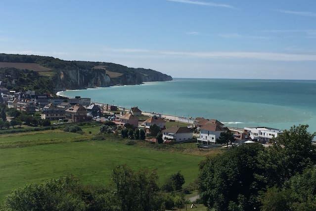 Con vistas apartamento en Pourville-sur-mer