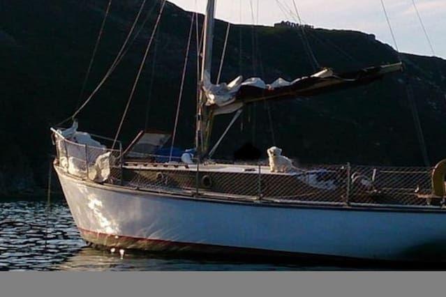 Port Torredembarra - Classic wooden sailing yacht