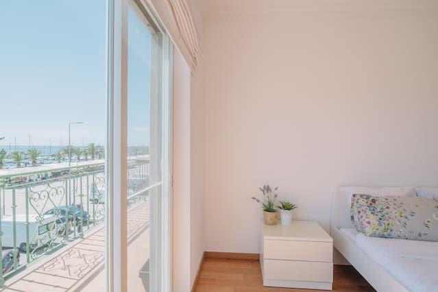 Apartamento de 2 habitaciones a 1000 m de la playa